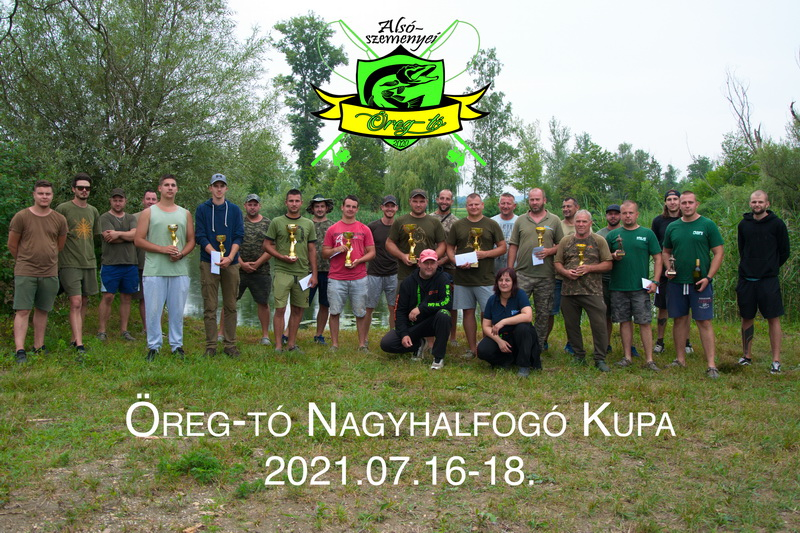 Öreg-tó kupa csapatkép
